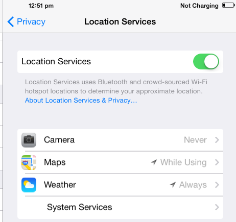 Select-App-to-Disable-Location-Services-in-iOS-8