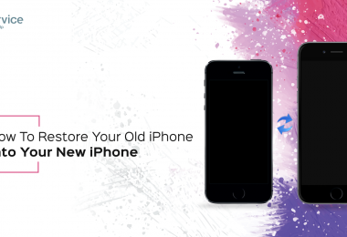 iService blog - How To Transfer Data from old to new iPhone