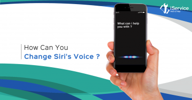 how to change the voice of siri