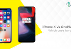 iPhone X vs. OnePlus 6