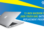 13-inch MacBook Pro (non-Touch Bar) Battery Replacement Program by Apple