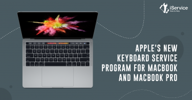 Apple's new Keyboard Service Program for MacBook and MacBook Pro - iService blog banner