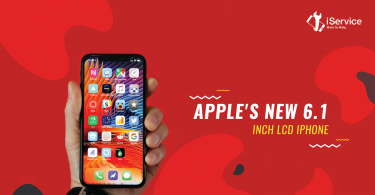 Apple's new 6.1 inch LCD iPhone - iService Blog Banner