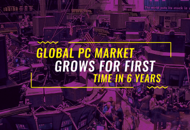 global pc market grows first time in 6 years